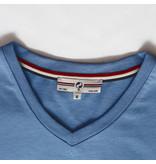Q1905 Men's T-shirt Zandvoort - Light Denim blue