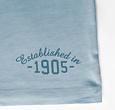Q1905 Heren T-shirt Zandvoort - Lichtblauw