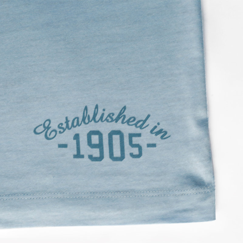 Q1905 Men's T-shirt Zandvoort - Light blue