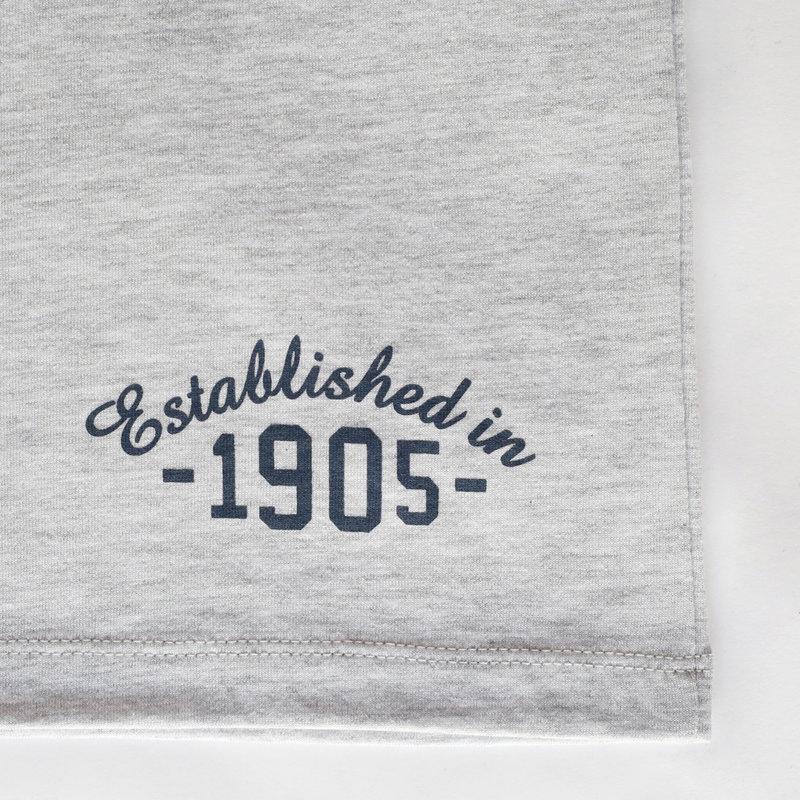 Q1905 Mens's T-shirt Zandvoort - Light grey