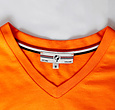 Q1905 Men's T-shirt Zandvoort - Dutch orange