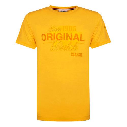 Mens's T-shirt Loosduinen - Yellow