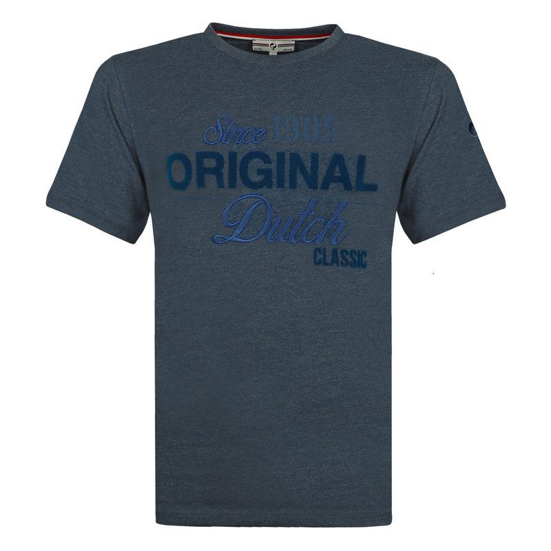 Q1905 Mens's T-shirt Loosduinen - Dark Denim blue