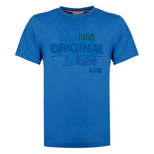 Heren T-shirt Loosduinen - Koningsblauw