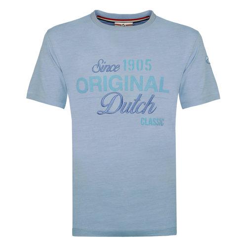 Mens's T-shirt Loosduinen -  Light Blue