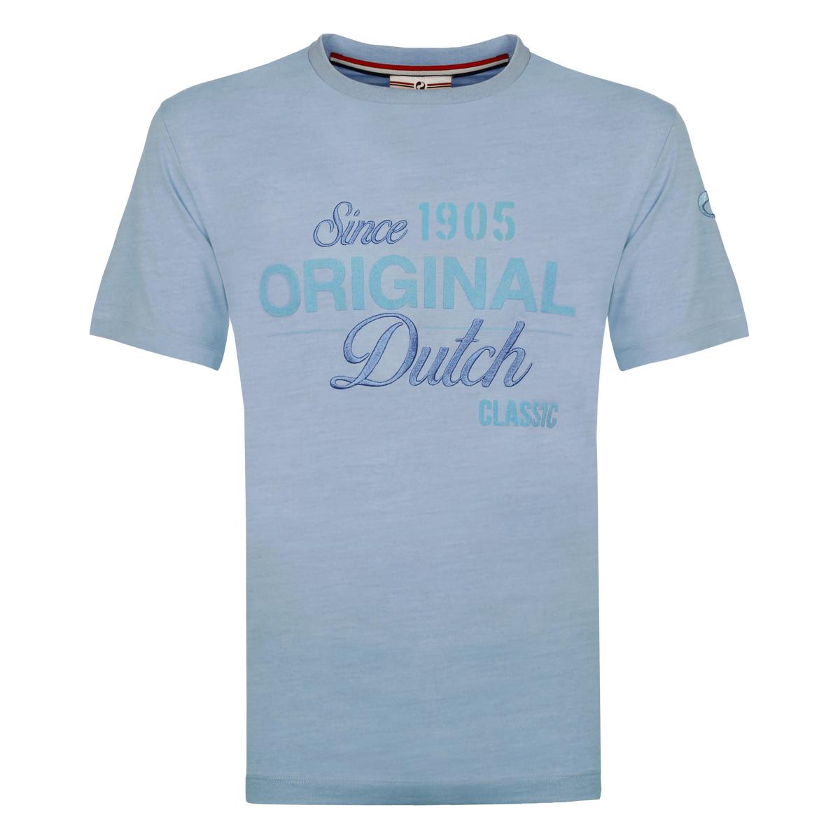 Heren T shirt Loosduinen Lichtblauw
