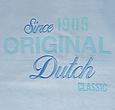 Q1905 Heren T-shirt Loosduinen - Lichtblauw