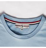 Q1905 Mens's T-shirt Loosduinen -  Light Blue