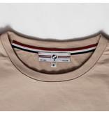 Q1905 Heren T-shirt Loosduinen - Zacht taupe