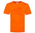 Q1905 Mens's T-shirt Loosduinen - Dutch Orange