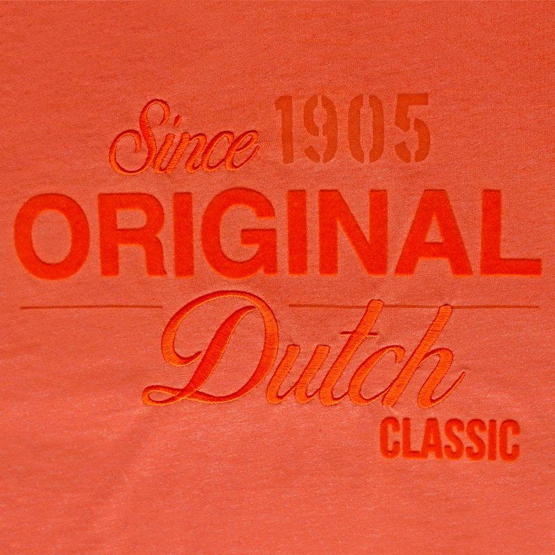 Q1905 Mens's T-shirt Loosduinen - Retro orange