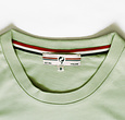 Q1905 Mens's T-shirt Loosduinen - Light grey-green