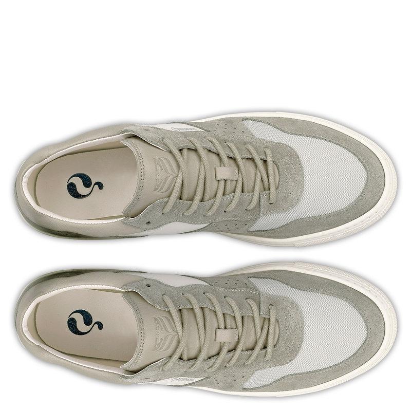 Q1905 Heren Sneaker Bussum - Lichtgrijs