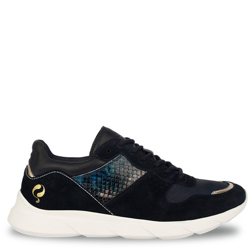 Women's Sneaker Hillegom - Dark blue