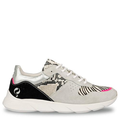 Dames Sneaker Hillegom - Wit/Multi