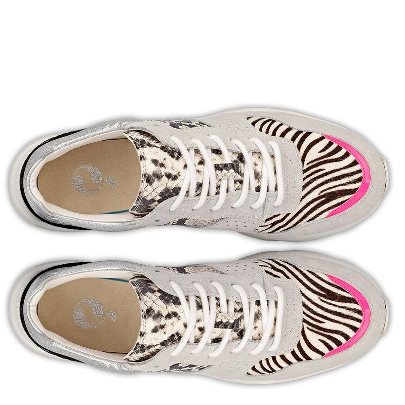 Q1905 Women's Sneaker Hillegom - White/Multi