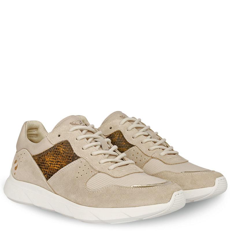 Q1905 Dames Sneaker Hillegom - Zacht taupe