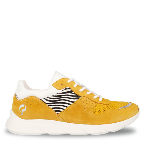 Dames Sneaker Hillegom - Oker geel