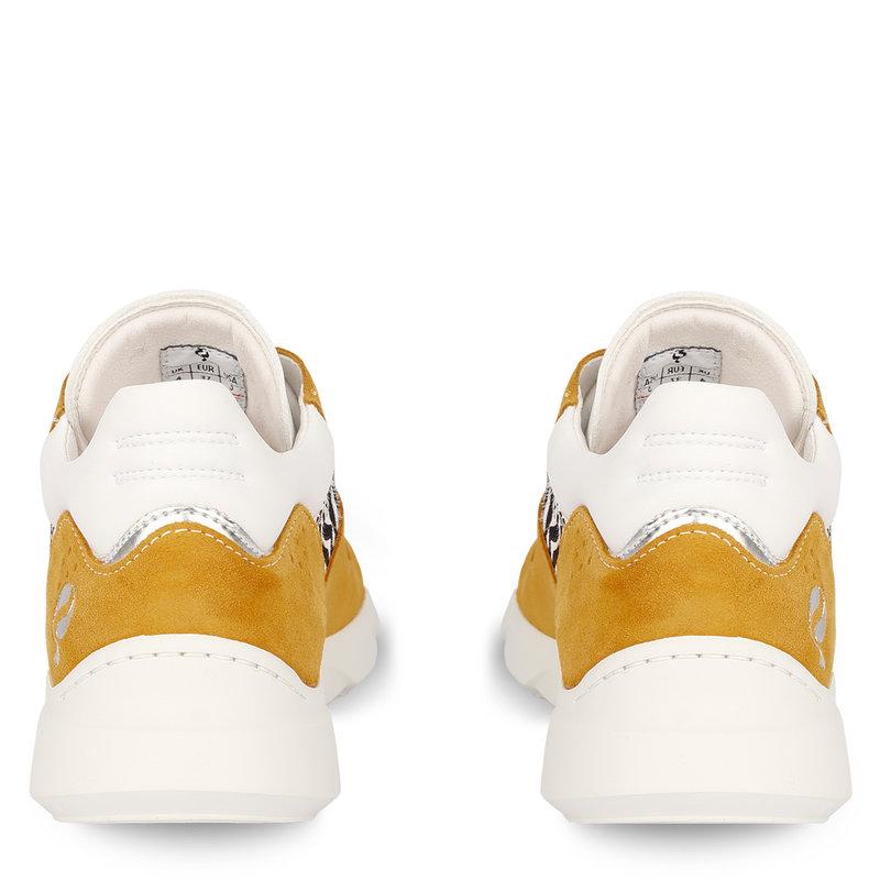 Q1905 Women's Sneaker Hillegom - Ochre yellow