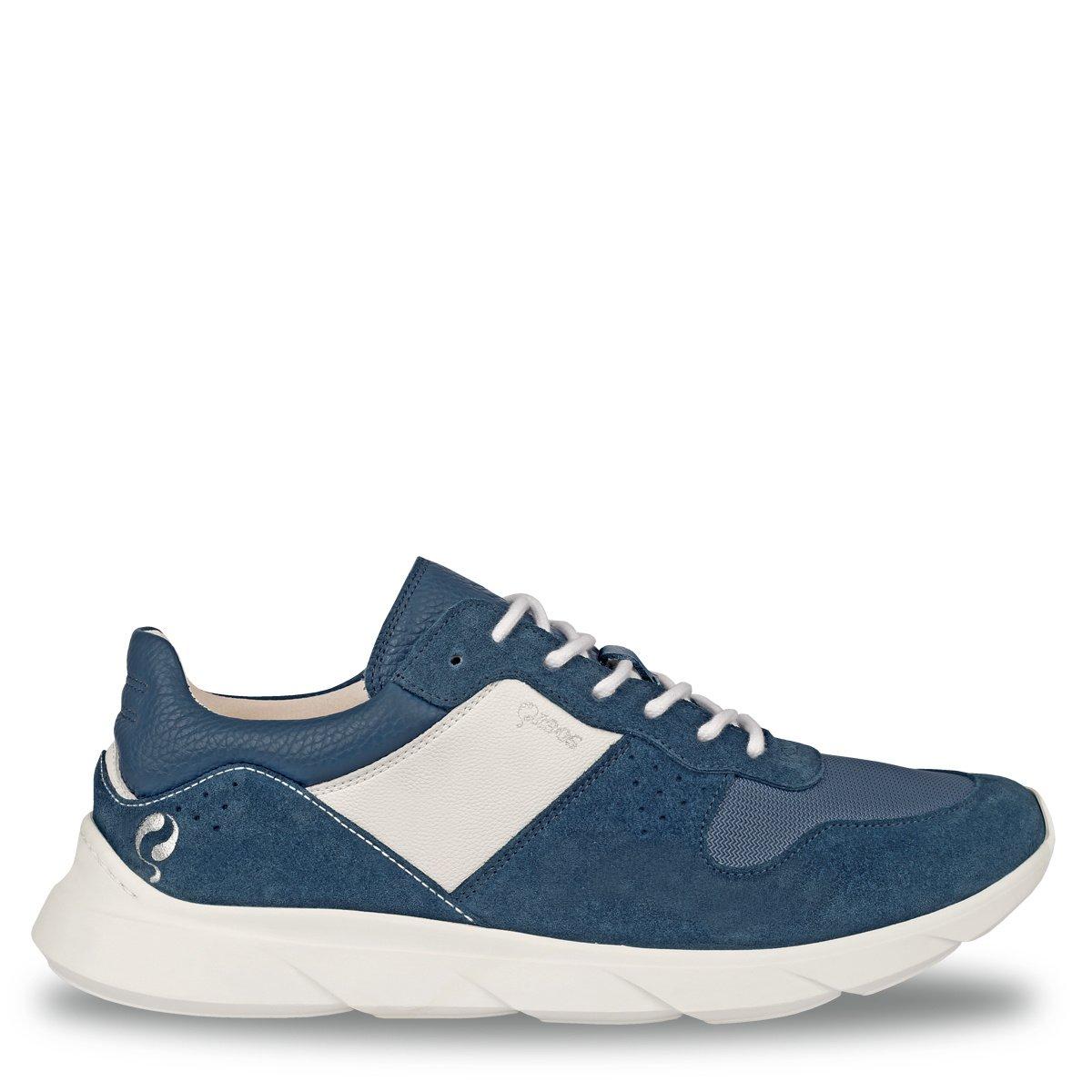 2 voor 149 - Heren Sneaker Hilversum - Denim blauw