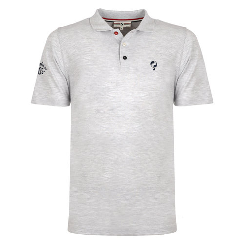 Men's Polo Willemstad - Light Grey-green