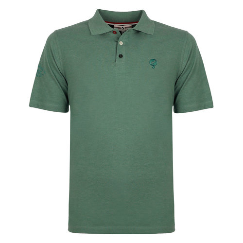 Men's Polo Willemstad - Grey-green