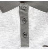 Q1905 Heren Polo Bruinisse - Lichtgrijs