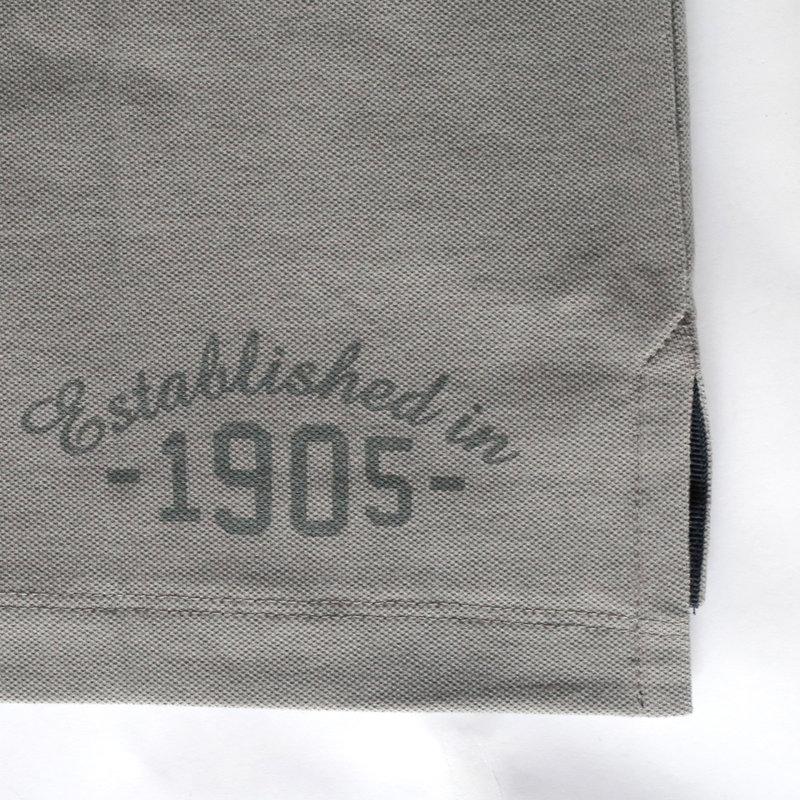 Q1905 Heren Polo Bloemendaal - Donkergrijs