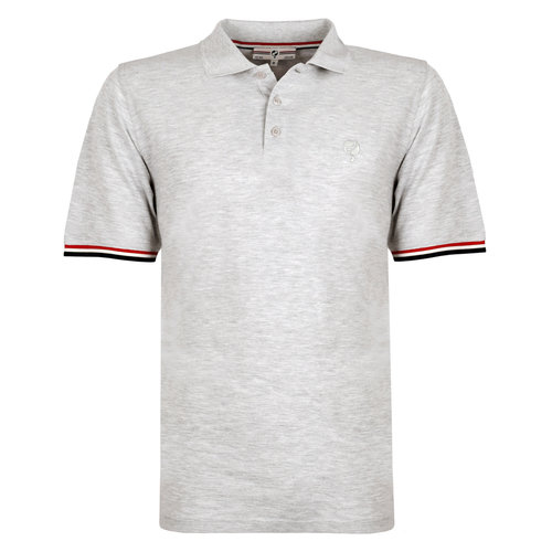 Men's Polo Bloemendaal - Light grey