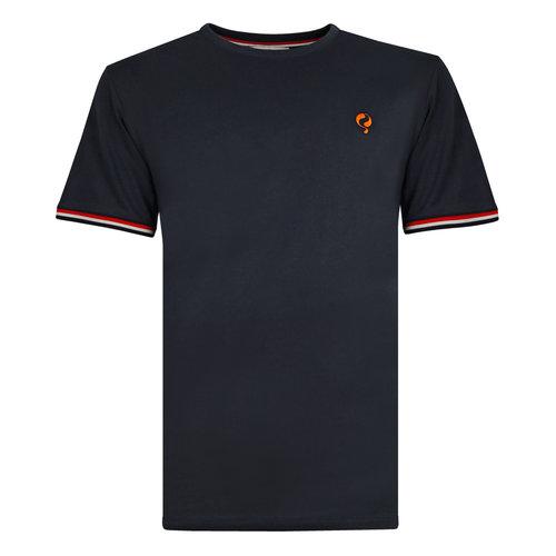 Heren T-shirt Katwijk - Donkerblauw