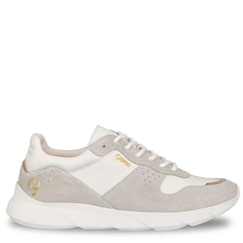 Q1905 Dames Sneaker Hillegom - Wit