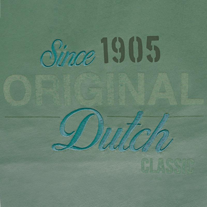 Q1905 Mens's T-shirt Loosduinen - Grey-green