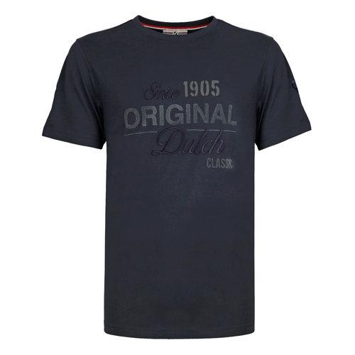 Heren T-shirt Loosduinen - Donkerblauw