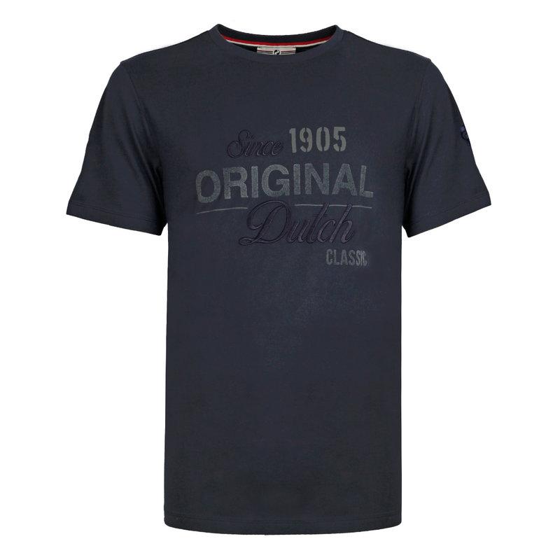 Q1905 Heren T-shirt Loosduinen - Donkerblauw