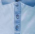Q1905 Heren Polo Bruinisse - Lichtblauw