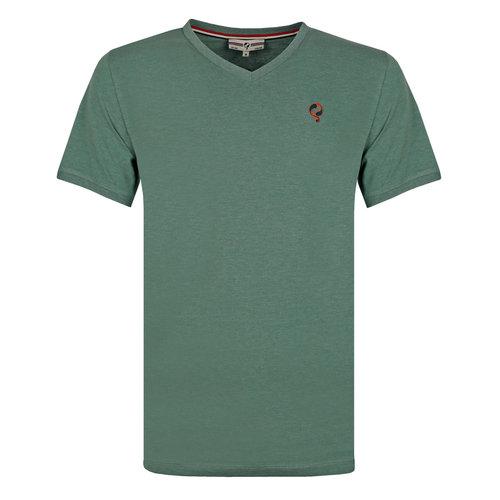 Heren T-shirt Zandvoort - Grijsgroen