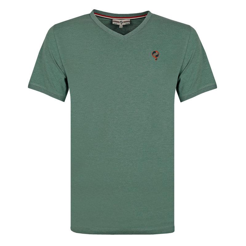 Q1905 Men's T-shirt Zandvoort - Grey-green