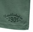 Q1905 Heren T-shirt Zandvoort - Grijsgroen