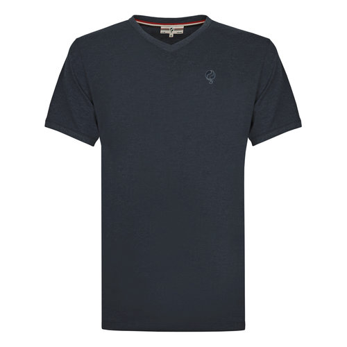 Heren T-shirt Zandvoort - Donkerblauw