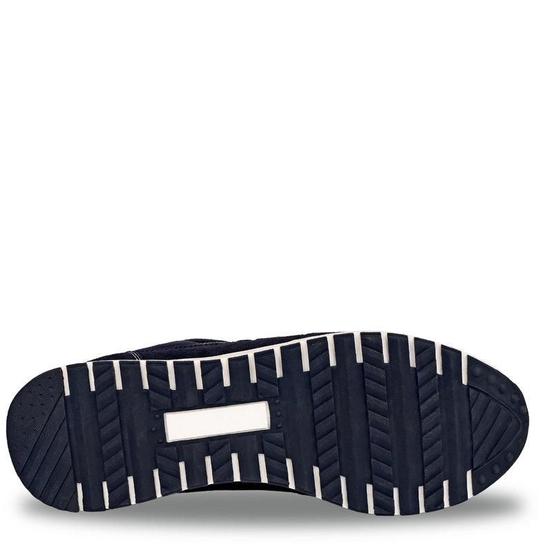 Q1905 Men's Sneaker Voorschoten - Dark blue/Yellow