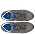 Q1905 Heren Sneaker Voorschoten - Grijs/Hard blauw