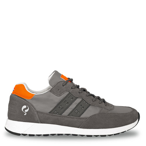 Men's Sneaker Voorschoten - Grey/Orange