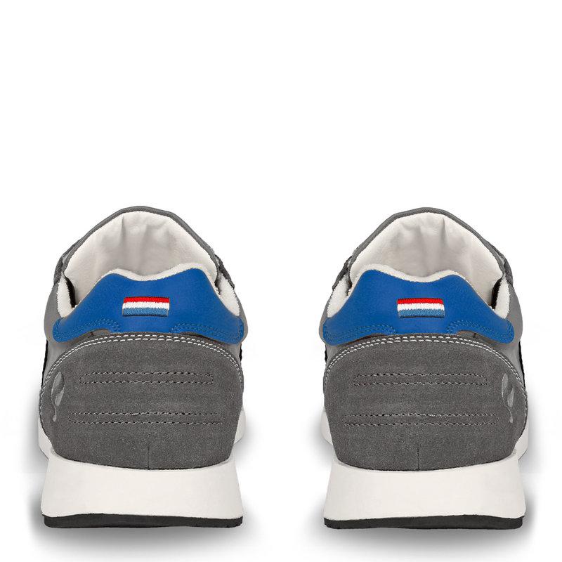 Q1905 Men's Sneaker Voorschoten - Grey/Hard blue