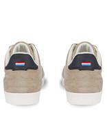 Q1905 Men's Sneaker Platinum - Soft taupe/White/Dark blue
