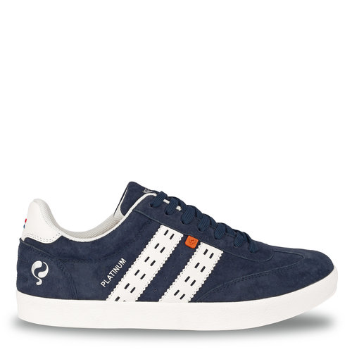 Heren Sneaker Platinum - Denim blauw/Wit