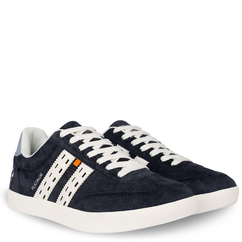 Q1905 Men's Sneaker Platinum - Dark blue/White/Light blue