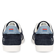 Q1905 Heren Sneaker Platinum - Donkerblauw/Wit/Lichtblauw
