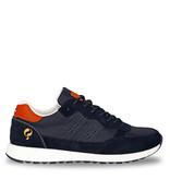 Q1905 Men's Sneaker Voorschoten - Dark blue/Orange