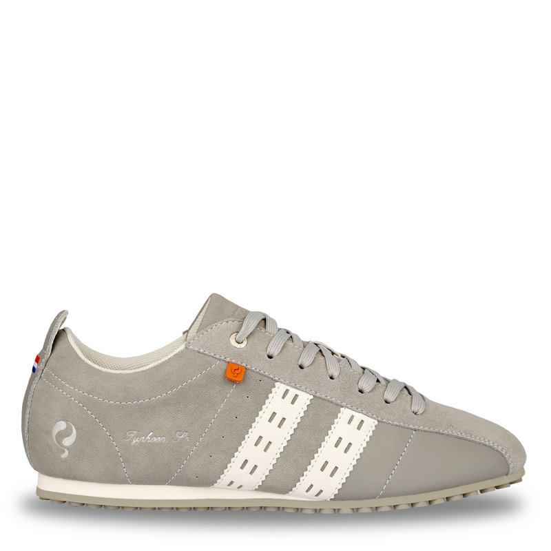 Q1905 Men's Sneaker Typhoon Sp  -  Light Grey/White