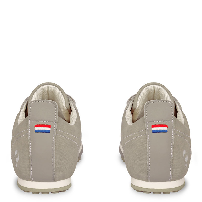 Q1905 Heren Sneaker Typhoon Sp  -  Lichtgrijs/Wit